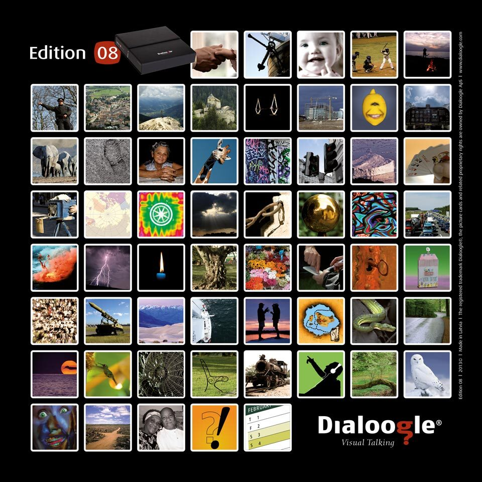 Billedkort oversigt edition 08 - Mus-samtale kort. Få MUS-samtalen i gang med billedkort.